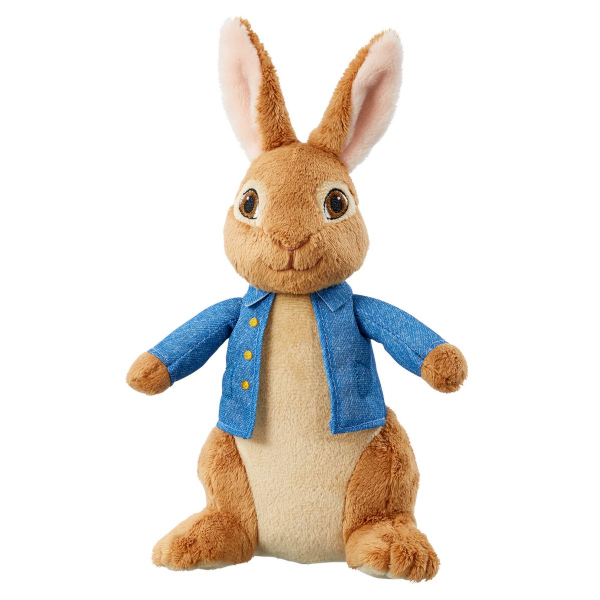 Peter Rabbit soft toy from the movie. 1503